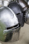 Old war helmet — Stock Photo