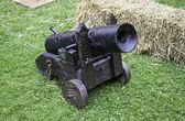 Gamla medeltida kanonen — Stockfoto