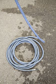 Irrigation hose — Stock Photo