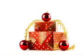 Christmas golden reddish — Stock Photo