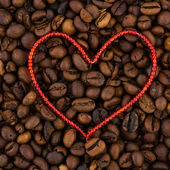 Heart Coffee — Stock Photo