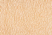 Beige texture terry — Stock Photo