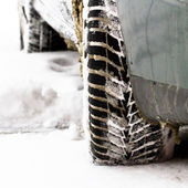 Winter tires — Stock Photo