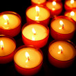 Candle set — Stock Photo