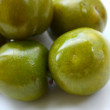 Savoury greengages — Stock Photo
