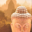 Buddha with necklace - Stockfoto