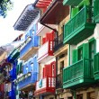 Colored houses — Stock Photo #12896780