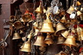 Group of bells — 图库照片