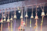 Bells with ribbons — Stock Photo