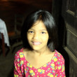 Stock Photo: Enchanting girl of Bandipur
