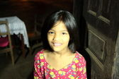 Enchanting girl of Bandipur — Stock Photo