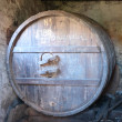 Cider barrel — Stock Photo