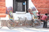 Turistic vehicle in Nepal — Stock Photo