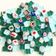 Stock Photo: Mosaics pile