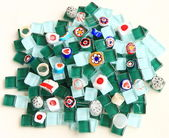 Mosaics pile — Stock Photo