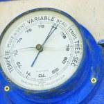 Old barometer — Stock Photo