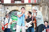 Blues Band in Hondarribia Blues Festival — Stock Photo