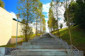 Stairs in technological park — Stock Photo