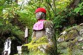 Jizo sculpture in Nikko — Stock Photo