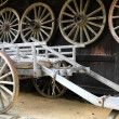 Stock Photo: Rustic cart
