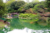Ritsurin park-Japan — Stock Photo