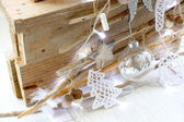 Decorated for christmas — Stock Photo