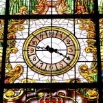 Station clock — Stock Photo