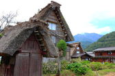 Rustic cottages - Japan — Stock Photo
