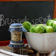 Foto Stock: Blackboard and verdure