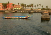 Goree pier-Senegal — Stock Photo