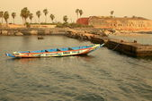 Goree quay-Senegal — Stock Photo