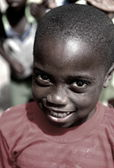 Smiling boy-Diogue-Senegal — Stock fotografie