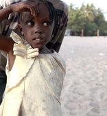 Nice girl-Carabane-Senegal — Foto Stock
