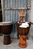 Instruments in market-Ziguinchor-Senegal — Stock Photo