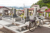 Japoński cmentarz — Zdjęcie stockowe