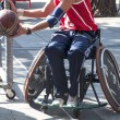 Men's Wheelchair Basketball Action - Stockfoto
