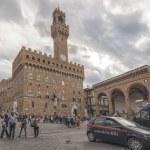 Piazza della Signoria in Florence,Italy — Stock Photo