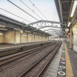 Stock Photo: Japanese Train Station