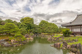 Ninomaru Garden in Kyoto Castle — Stock Photo