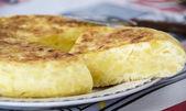 Spanish Potato Omelet — Stock Photo