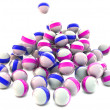 3d glossy spheres — Stock Photo #13275303