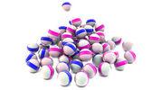 Sphères brillants 3d — Photo