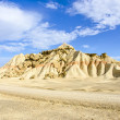 Desert of the Bardenas Reales in Navarre - Stock Photo