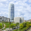 Stock Photo: IberdrolTower in Bilbao