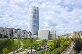 Iberdrola Tower in Bilbao — Stock Photo
