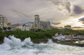 Biarritz in France — Stockfoto