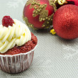 Christmas cupcake — Stock Photo #15724249