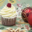 Christmas cupcake — Stock Photo #15724565