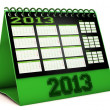 Calendar 2013 in 3d — Stock Photo #16338801