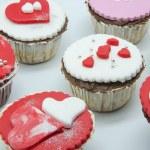 Valentine cupcakes — Stock Photo #19316727